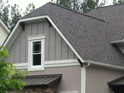 Board and Batten Siding Accents